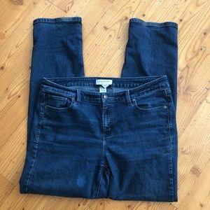 Lane Bryant medium wash denim jeans Sz 16R